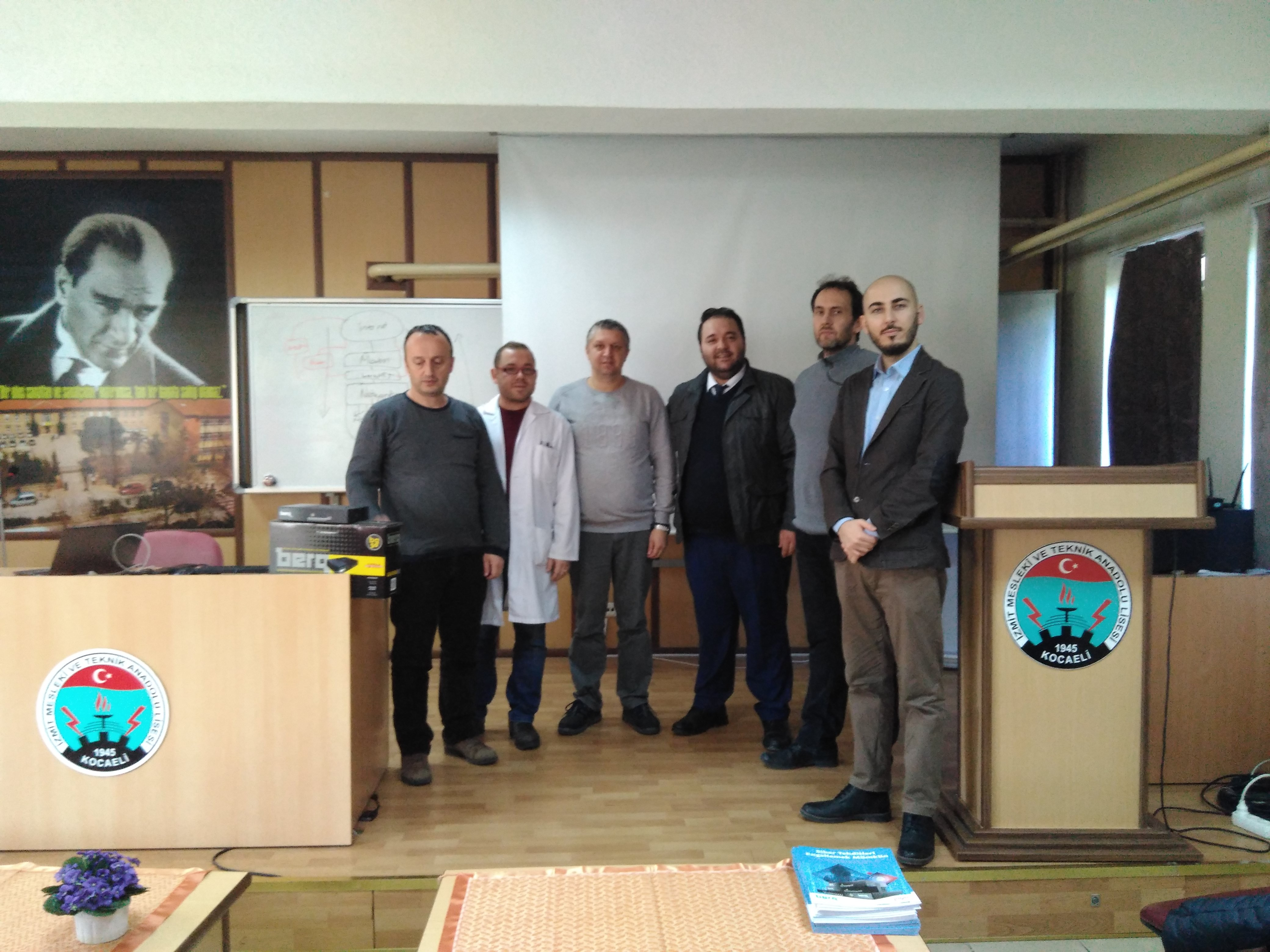 BerqNET İzmit Mesleki ve Teknik Anadolu Lisesi Eğitim
