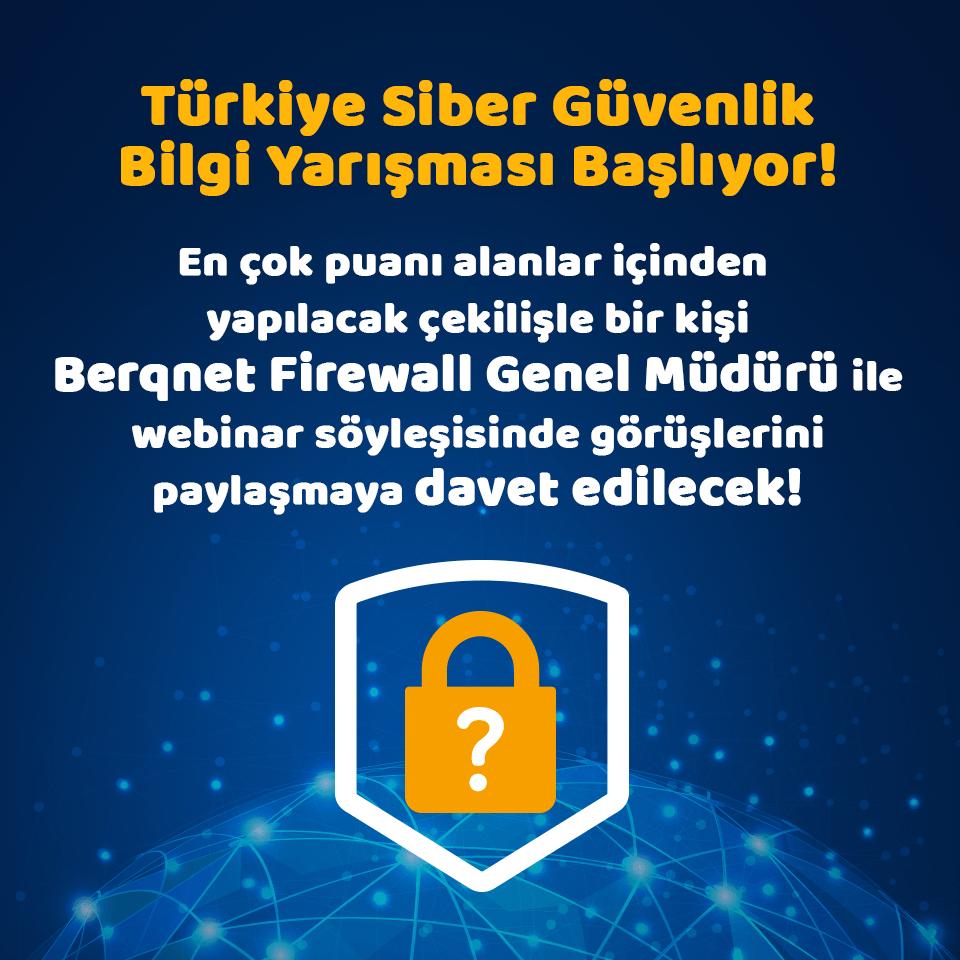 Berqnet Firewall Siber Güvenlik Yarışması