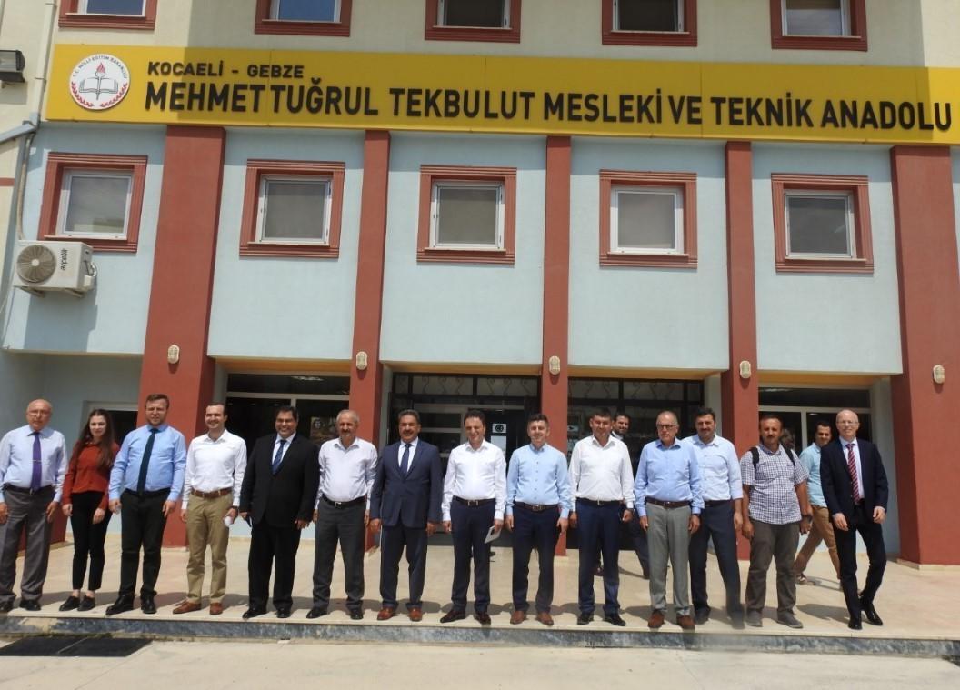 Mehmet Tuğrul Tekbulut MTAL'de (Bilişim Lisesi) Mesleki Eğitimde Niteliğin Artırılması Çalıştayı Yapıldı!
